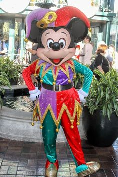 Jester Mickey Mouse