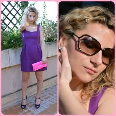 Think violet! New post on my fashion blog www.luxandrock.con