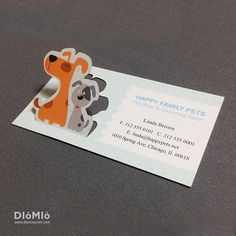 Pet Shop Business Cards