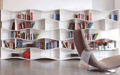 Estanterías y bibliotecas modernas