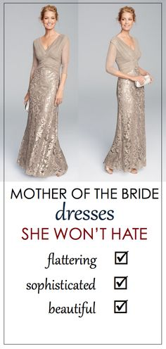 Mother of the Bride Dresses Your Mom Will Love!