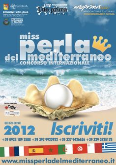 En Italia celebran también el concurso de Miss Perla del Mediterraneo como hacen en Ceuta.