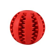 Tooth Cleaning Rubber Dog Ball