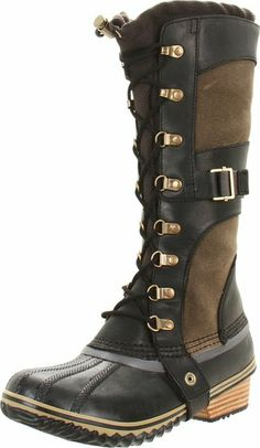 Amazon.com: Sorel Women Conquest Carly Boot: Shoes
