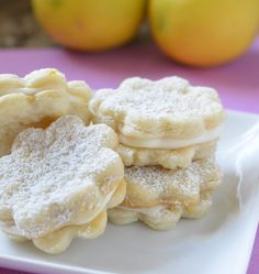 lemon pastry cremes