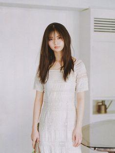 Saito Asuka, Short Sleeve Dresses, Dresses With Sleeves, Woman, Projects, Gowns With Sleeves, Sleeve Dresses