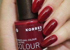 My first #korres Nail Polish | in a nutshell...#notd #nailpolish #red