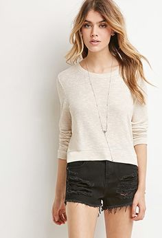 Textured Knit Sweater | Forever 21 - 2000183872