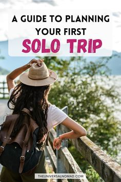 Solo travel is an amazing experience, and one that everyone should try to experience at least once. Here is my quick guide with some tried and tested tips to planning your first solo trip! #solotravel #solofemaletravel #theuniversalnomad #exploretheworld #travelguides Solo Travel Tips, Packing Tips For Travel, Travel Advice, Travel Guides, Orkney Islands, Solo Trip, Travel Route, Slow Travel, Human Connection