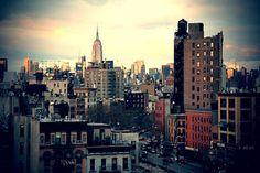 new york via @ Molly Ryan