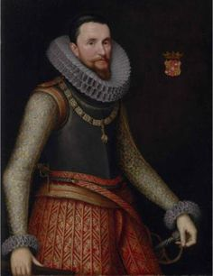 Ambrogio Spinola, 1st Marquis of Los Balbases, ca. 1611  (circle of  Michiel Jansz. Van Miereveld) (1567-1641) The Weiss Gallery, London