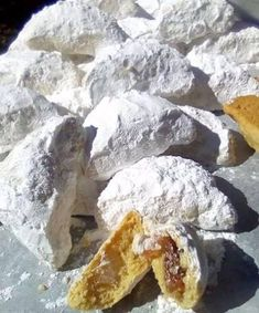 Greek Sweets, Greek Desserts, Greek Recipes, Biscotti Cookies, Pastry Cake, Cake Recipes, Biscuits, French Toast, Goodies