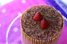 Chocolate and Strawberry Pocky Cake