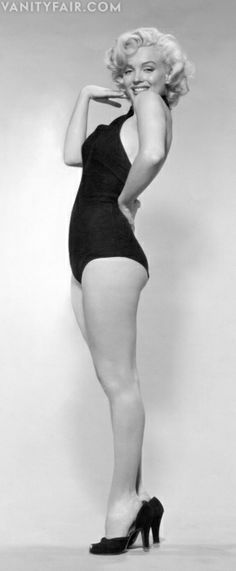 She was the sexiest woman of her time and she had curves. You can be beautiful at any size!