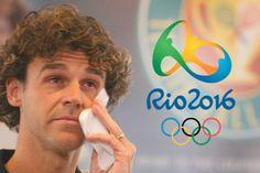 Guga chorando com o encerramento da Rio 2016