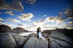 Wedding photography, south west Western Australia, at Canal Rocks, Yallingup.  www.envywebsite.com