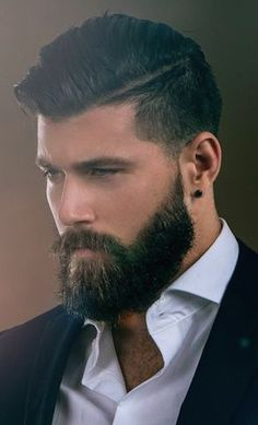 29 Awesome Beards Style You Can Try Now. Hell, there's even a biological reason why men are fond of facial hair. Getting a beard is not tough, Mens Hairstyles With Beard, Haircuts For Men, Cool Hairstyles, Hairstyles 2018, Modern Hairstyles, Hairstyles Haircuts, Wedding Hairstyles, Beard Styles For Men, Hair And Beard Styles