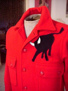 Vintage Official Boy Scouts of America Red Wool by OldohioVintage