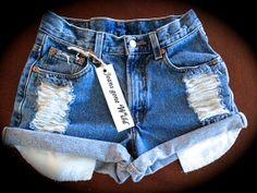 I found 'High waist denim shorts size M/L/XL/XXL' on Wish, check it out!