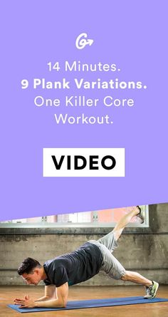 It's going to hurt to laugh tomorrow.  #greatist http://greatist.com/move/14-minute-core-workout-with-plank-variations
