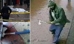 A Muslim Hits A NYC Cop In The Head With A Hatchet