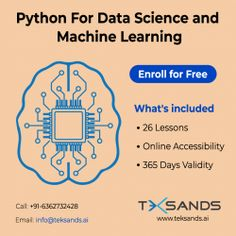 Wondering how to create a solid base to understand complicate concepts about Data Science, Machine Learning and Artificial Intelligence? You need to develop a solid foundation on Inferential Statistics. Teksands brings a free course for you to learn at your own pace. Teksands brings Best Online Machine Learning Courses in India Learning Courses, Learning Resources, Machine Learning Course, Free Courses, Data Science, Artificial Intelligence, Software Development, Infographic, Foundation