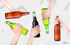 Conoce las filosofías de los distintos tipos de borrachos. Y tú ¿ya sabes qué tipo de alcohólica eres?