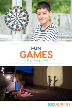 A collection of fun wall games for kids. Great for gym class or nearly any room with a wall. Turn an ordinary wall into entertaining fun. All Games For Boys, Games For Toddlers, Indoor Activities For Kids, Kid Activities, Games To Play, Summer Party Games, Wall Game, Outdoor Games For Kids, School Games