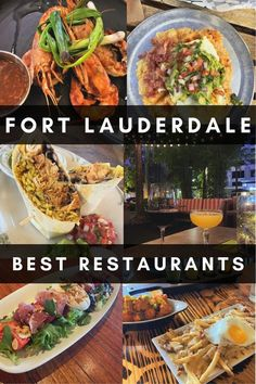 If you are looking for where to eat in Fort Lauderdale, check out this guide to the best Fort Lauderdale restaurants! This includes recommendations for different cuisines and price ranges #fortlauderdale #southflorida #floridafoodie Florida Food, Florida Travel, Usa Travel, Fort Lauderdale Restaurants, Delicious Restaurant, Cuban Recipes, Dinner Options, Best Places To Eat, Kitchens