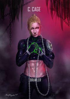 Mortal Kombat X Cage Brawler by Grapiqkad on DeviantArt