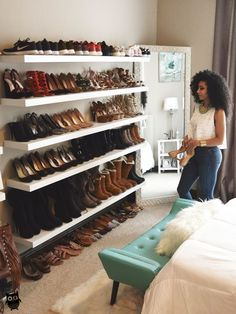 64 Ideas apartment closet organization walk in shoe wall