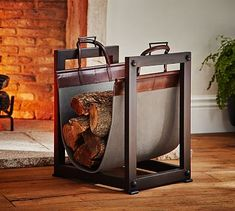 Shop log carrier from Pottery Barn. Our furniture, home decor and accessories collections feature log carrier in quality materials and classic styles.