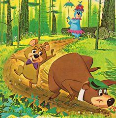 Hanna-Barbera's Yogi Bear - written by Carl Memling, illustrated by Norman McGary & Hawley Pratt (1961).