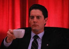 Coffee? Cooper from Twin Peaks
