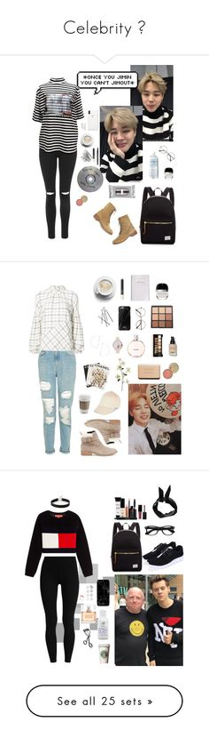 """""""Celebrity 💓"""" by kenaax ❤ liked on Polyvore featuring Topshop, M.Y.O.B., Marc Jacobs, Madewell, NARS Cosmetics, Kitsch, NYX, Beekman 1802, Herschel Supply Co. and Rosebud Perfume Co."""