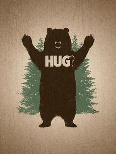 Bear hug, anyone?