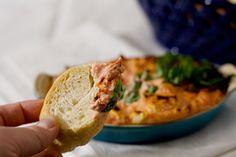 Warm Tomato Basil Dip