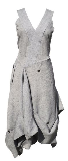 Tennyson dress - want to make an jeans apron like this one