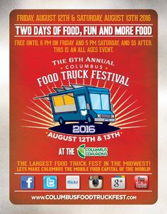 The Columbus Food Truck Festival is a delicious mix of the best food trucks & carts in Central Ohio and a great venue to hear live music.
