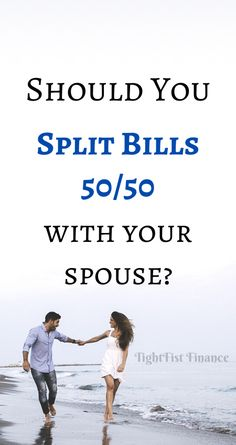 Should you split bills with your spouse or partner with separate finances? How should you split finances when living together in a shared house? How To Split, Money Tips, Money Hacks, Household Expenses, Money Saving Mom, Earn More Money, Get Out Of Debt, Investing Money, Budgeting Money