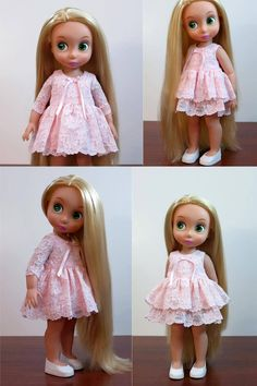 Items similar to Disney Animators doll clothes. on Etsy Pretty Dolls, Cute Dolls, Beautiful Dolls, Disney Animator Doll, Disney Dolls, Doll Clothes Patterns, Clothing Patterns, Disney Outfits, Girl Outfits