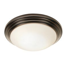 Requires one (1) 60-watt incandescent medium base bulb (Not Included) Dimensions: 3.5 inches high x 10 inches in diameter $30 HALLWAY  CHEAP, BUT DECENT LOOKING AND WOULD MATCH DINING CHANDELIER TONES