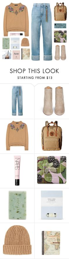 """the more we crash apart"" by amazing-abby ❤ liked on Polyvore featuring Mira Mikati, Aquazzura, Dolce&Gabbana, Fjällräven, NARS Cosmetics, Jo Malone, Meraki, Laura Ashley, Prada and Topshop"