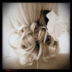 My inspiration for my hair at the wedding!