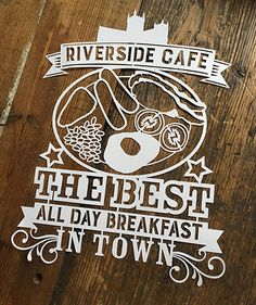 © KyleighsPapercuts 2015 Riverside Cafe, Paper Cutting, Inspired, Day, Inspiration, Decor, Biblical Inspiration, Decoration, Decorating