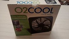 "O2COOL NEW 10"" Battery Operated Fan with Adapter, Graphit... http://www.amazon.com/dp/B00ATSHJ1Q/ref=cm_sw_r_pi_dp_v5Jtxb1TFY3AS"