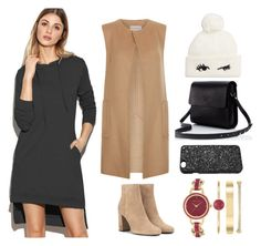 """""""READY FOR THE COLD"""" by jamie-tiu ❤ liked on Polyvore featuring Monsoon, Yves Saint Laurent, Kate Spade, Victoria's Secret and Anne Klein"""