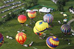 Stowe, Vermont Balloon Festival