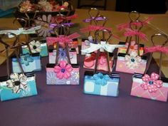 retreat party favors | ... for my scrapbooking retreat. Did them up in little cellophane bags