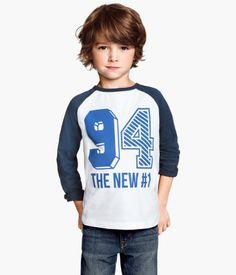 Love this kid's haircut.